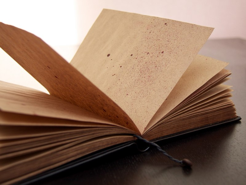 блокнот из крафт-бумаги