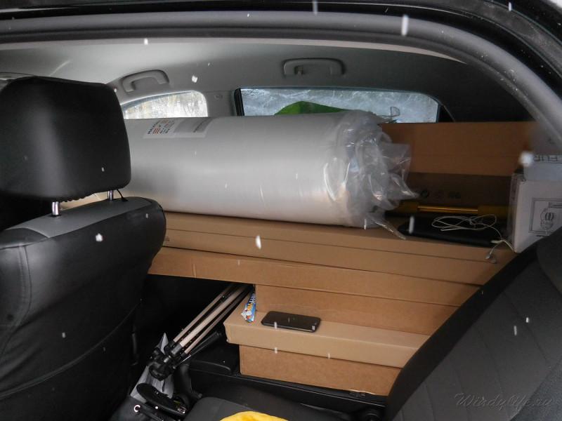 мебель в машине