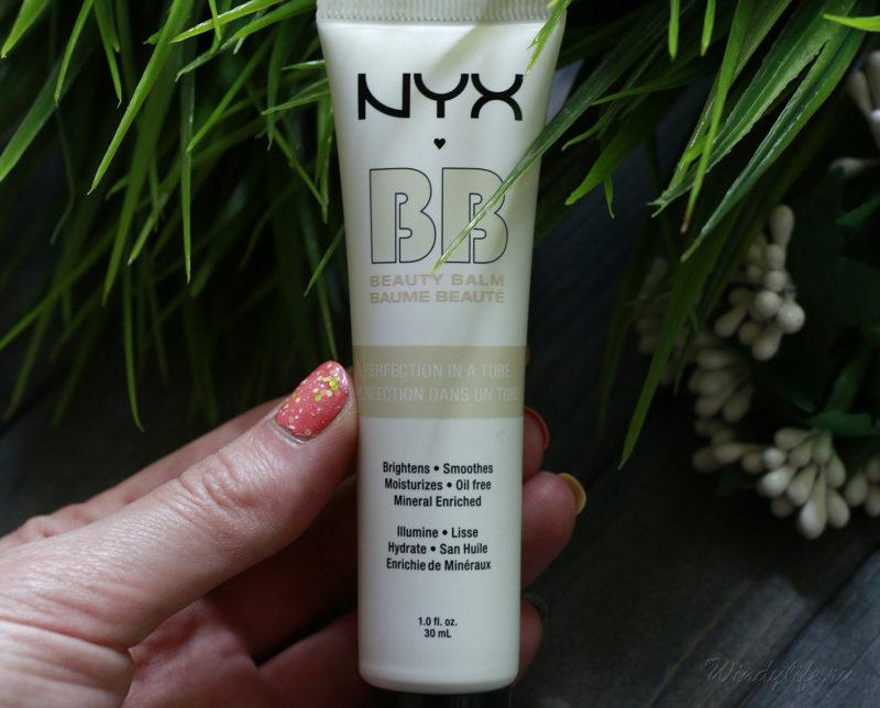 BB крем NYX 01 nude