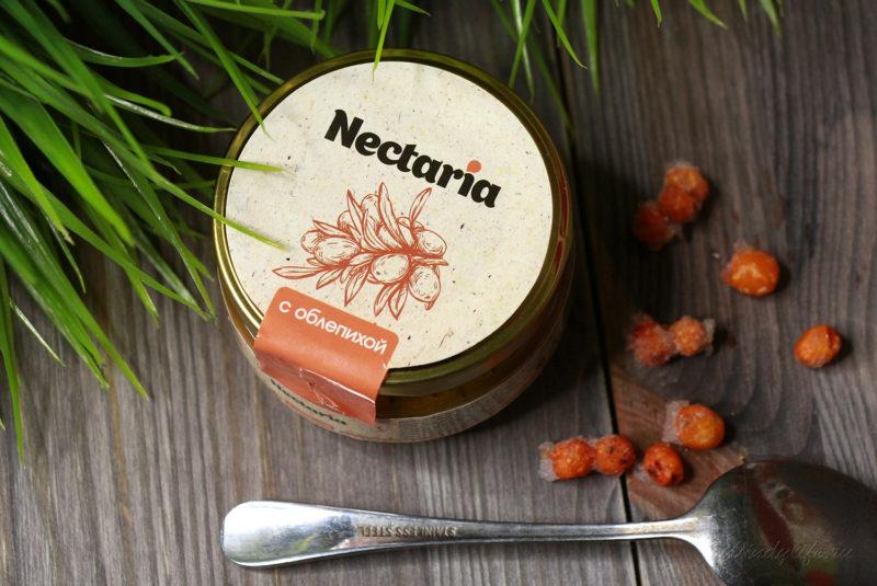 мед с ягодами облепихи Nectaria